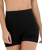 Cocoon Black Moderate Compression Butt-Lifter Shaper Shorts