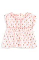 Infant Girl's Tucker + Tate Embroidered Knit Top