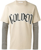 Golden Goose Deluxe Brand layered stripe top - men - Cotton - S