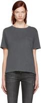 Amo Grey Tomboy Pocket T-Shirt
