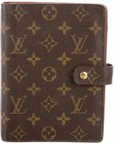 Louis Vuitton Medium Ring Agenda Cover