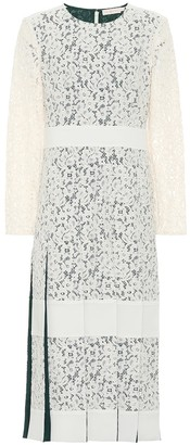 Tory Burch Cotton-blend lace dress