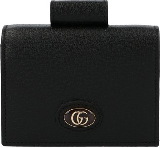 Gucci Ophidia GG Logo Plaque Wallet