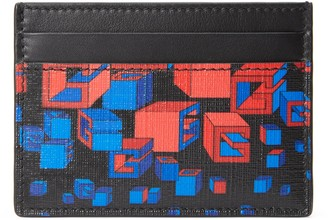 Gucci Square G space print card case