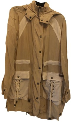 Trussardi Jeans Beige Trench Coat for Women