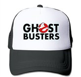 Frank Nerd Ghost Busters Logo Adult Nylon Adjustable Trucker Hat