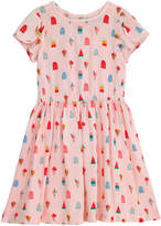 Cath Kidston Lollies Kids Petal Sleeve Dress