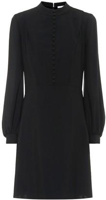 Chloé Silk-crepe dress