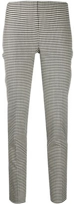 P.A.R.O.S.H. Checked Cropped Trousers