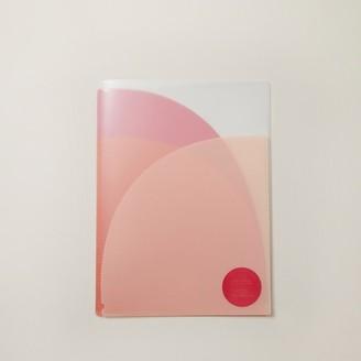 Indigo Paper A4 Folder Wallet Clear Boho Bright