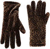 Cejon Brown & Black Cheetah Velvet Glove