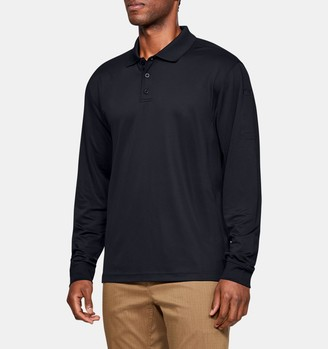 Under Armour Men's UA Tactical Performance Long Sleeve Polo