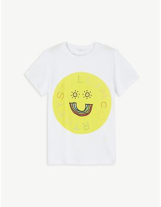 Stella McCartney Rainbow-print cotton T-shirt 4-16 years