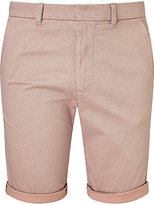 Diesel Driver Print Shorts, Misty Rose