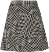 Etro houndstooth pattern skirt