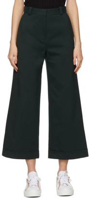 See by Chloe Green Cropped Trousers