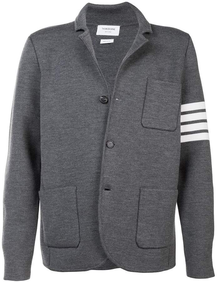 Thom Browne rib knit blazer