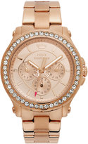Juicy Couture Watch, Women's Pedigree Rose Gold-Tone Stainless Steel Bracelet 38mm 1901050