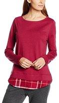 Triumph Women's M&M AW16 Top 2 in 1 Pyjama Top - Red -