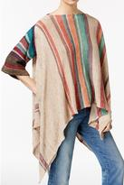 Free People Comfy Colorful Poncho