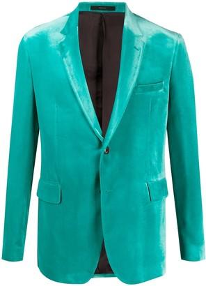 Paul Smith Kensington single-breasted velvet blazer