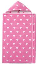 Pottery Barn Kids Heart Bath Wrap