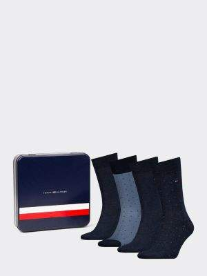 Tommy Hilfiger 4-Pack Men's Mixed Dot Print Socks