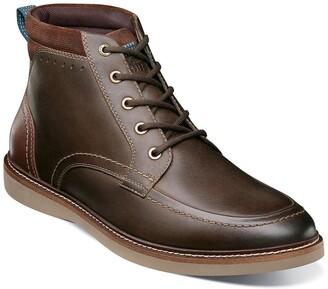 Nunn Bush Ridgetop Plain Toe Chukka Boot - Wide Width Available