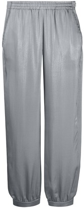 Emporio Armani High-Waisted Track Trousers