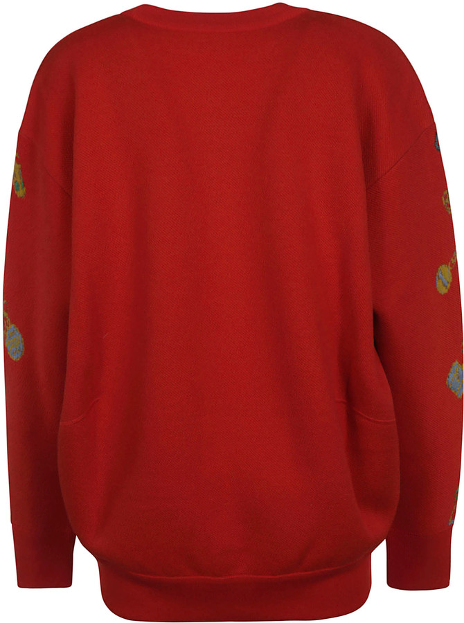 Thumbnail for your product : Givenchy Oversize Embroidered Sweater