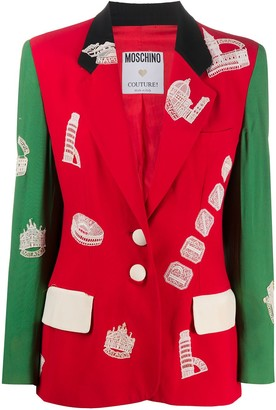 Moschino Pre-Owned 2000s Italie jacket