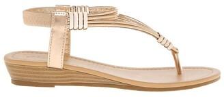 Miss Shop Monica Rose Gold Sandal