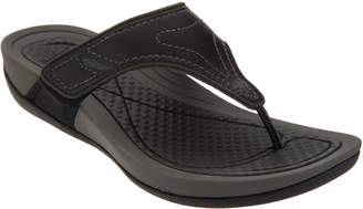 Dansko Leather Adjustable Thong Sandals - Katy