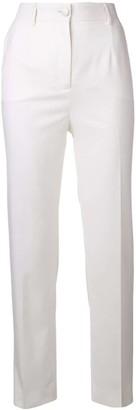 Dolce & Gabbana High-Waist Slim-Fit Trousers