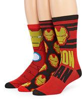 Marvel Ironman 3-pk. Crew Socks