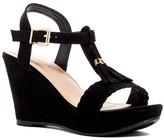 Top Moda Darron T-Strap Wedge Sandal
