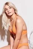 Ardene Ribbed Wrap Halter Bikini Top