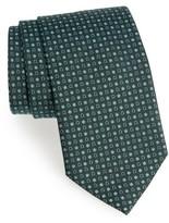 Salvatore Ferragamo Men's Geometric Gancini & Floral Print Silk Tie