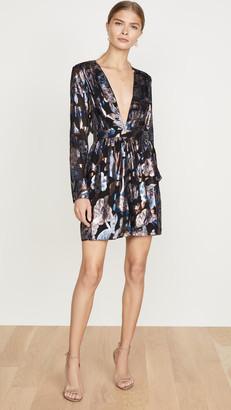 Ramy Brook Lurex Jacquard Shaina Dress