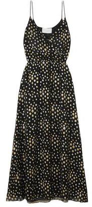 MARIE FRANCE VAN DAMME Long dress