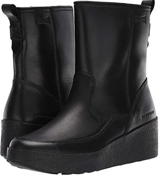 Cougar Devlin Waterproof (Black All Over Leather) Women's Waterproof Boots