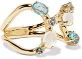Ippolita Rock Candy 18-karat Gold Topaz And Moonstone Ring