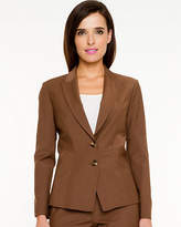 Le Château Tropical Wool Fitted Blazer