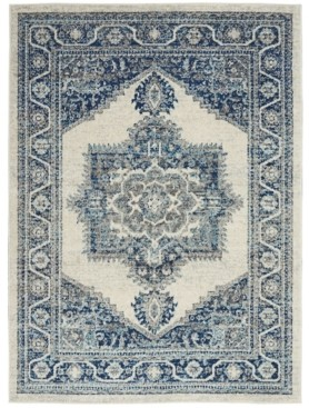 "Long Street Looms Antique ANT01 Ivory 5'3"" x 7'3"" Area Rug"