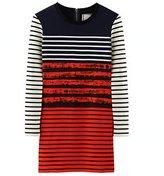 Petit Bateau Cédric Charlier womens contrasting dress
