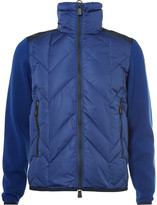 Moncler Grenoble - Virgin Wool-panelled Quilted Down Ski Jacket