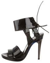 Chloé Patent Leather Multistrap Sandals