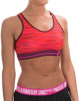 Under Armour Mid Printed Sports Bra - Medium Impact, Racerback (For Women)