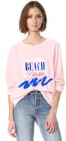 Wildfox Couture Beach Bum Sweatshirt