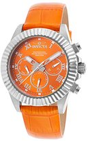 Invicta Women's 18479 Pro Diver Analog Display Swiss Quartz Orange Watch